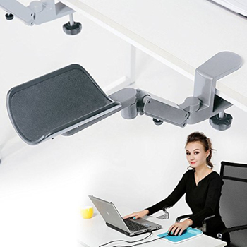 Fanshu Pro Ergonomic Arm Support Fashionable Aluminium Alloy Computer Arm Rest Tuned Both Horizontal and Vertical Direction