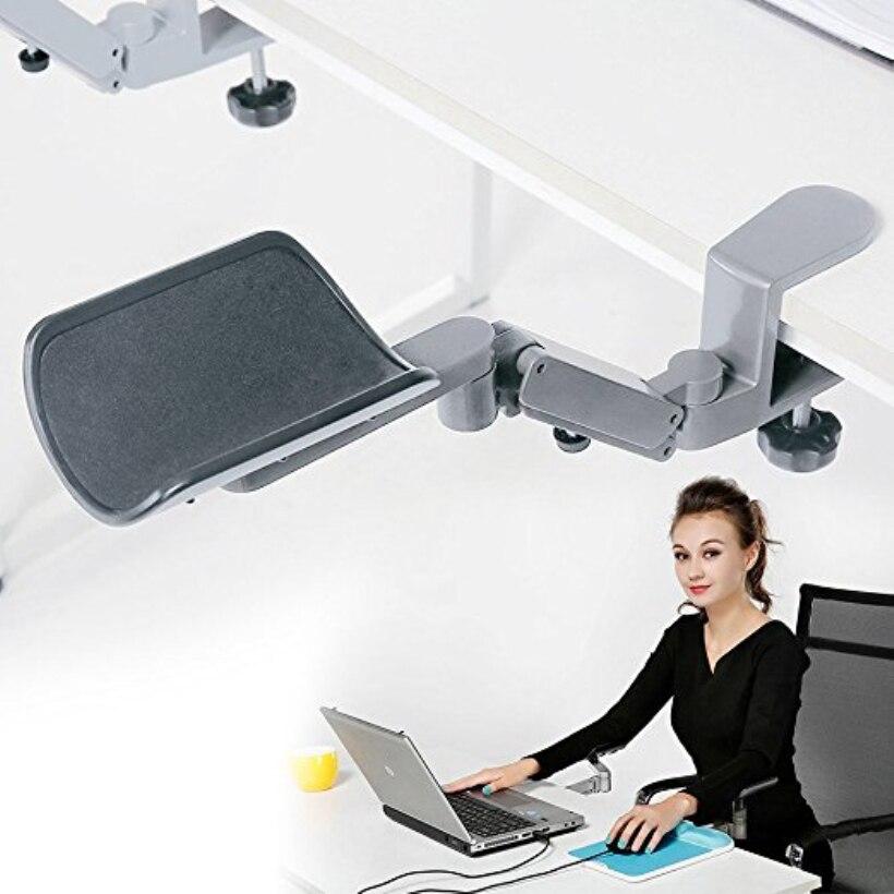 Support de bras ergonomique Fanshu Pro repose-bras d'ordinateur en alliage d'aluminium à la mode dans la Direction horizontale et verticale
