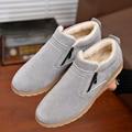 Men Shoes Warm Fur Winter Snow Shoes Men Fashion High Top Flat Casual Shoes Men Martin Boots Men Brand Shoes Chaussure Homme