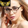 2016 New Design Vintage TR90 Men Women Eye Glasses Quality Fashion Style Round Retro Optical Frame Eyewear For Men Women Oculos