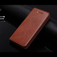 Fundas Cases For iPhone 4 & 4S Genuine Leather Cover Luxury Business Cell Phone Case Accessories Flip Magnetic Coque Capa