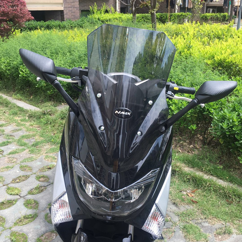 Us 18 03 5 Off Modified Motorcycle Height Adjustable High Windshield Windscreen Wind Deflectors Protector For Yamaha 2016 2019 Nmax155 Nmax 155 In