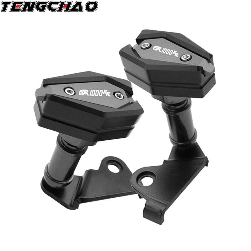 Protection de Protection de moteur de curseurs de cadre de curseur de moto Protection de chute pour Honda CBR1000RR CBR 1000RR 2013-2018