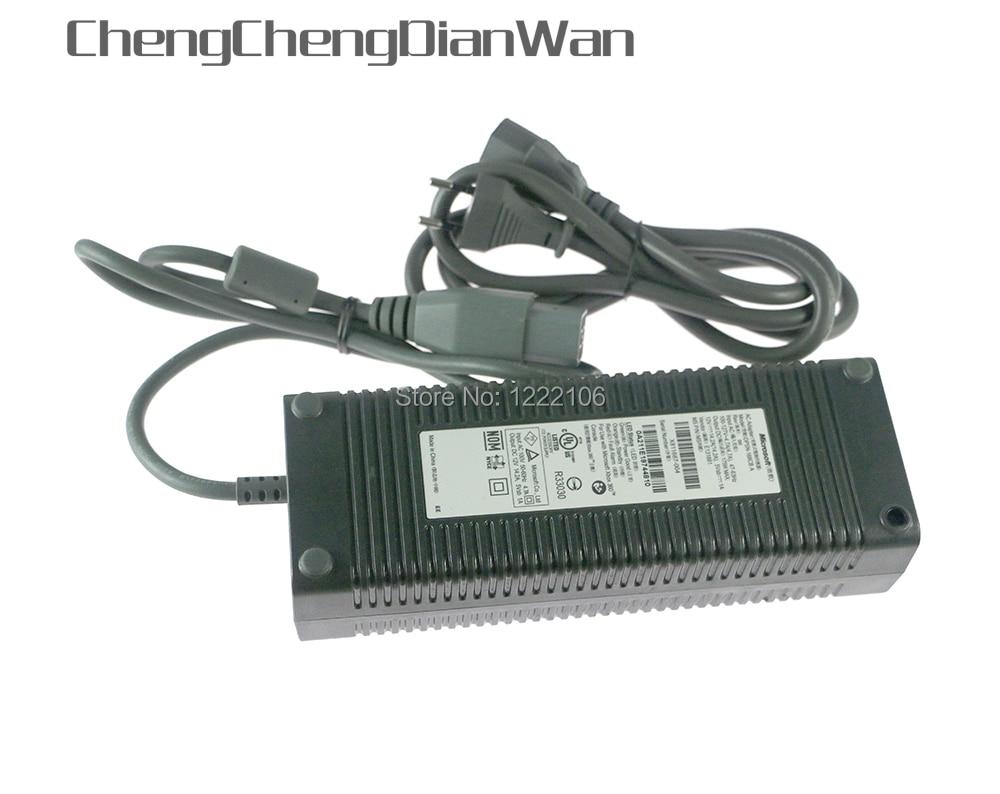 Chengdianwan высококачественный адаптер переменного тока для xbox 360 fat, зарядное устройство адаптер для xbox360 fat, для xbox 360 источник питания