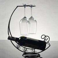 装飾レトロメタルワインボトル収納ホル
