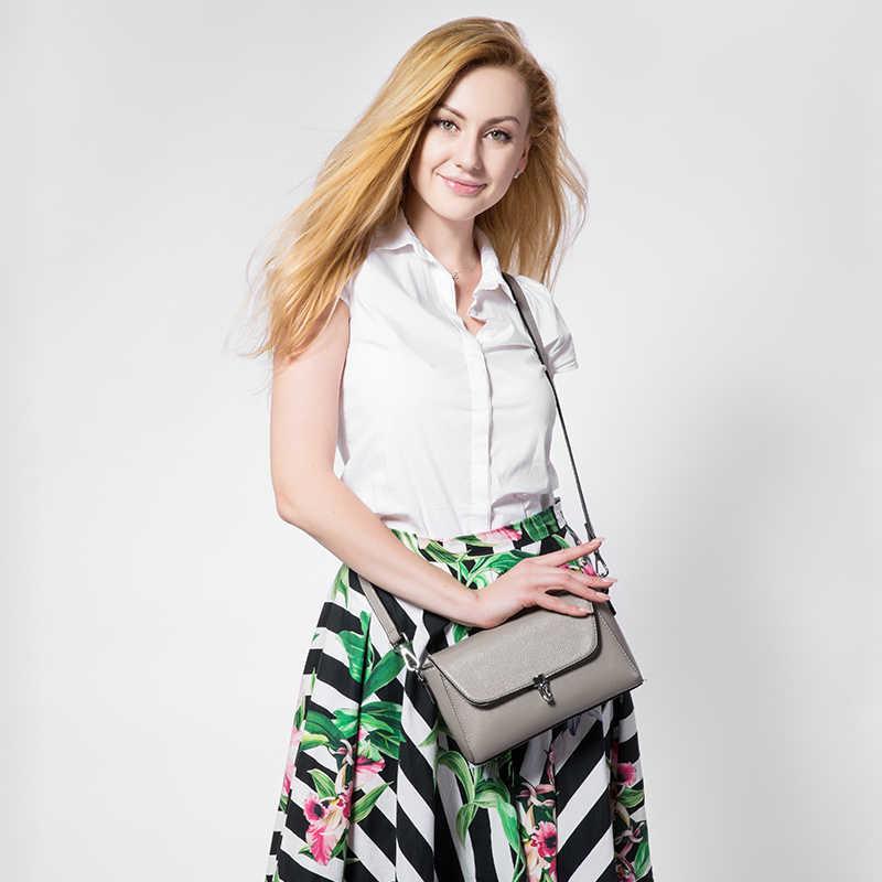 Realer Baru Fashion Wanita Messenger Tas Wanita Bahu Tas Selempang Wanita Kapasitas Besar Tas Tangan Biru Muda/Abu-abu/hitam