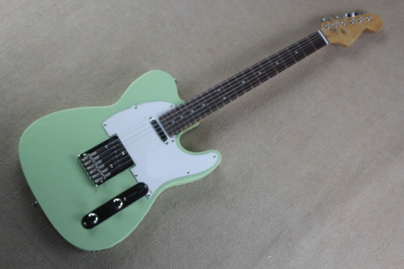 top quality lower price f tele light blue color guitars telecaster electric guitar in stock in. Black Bedroom Furniture Sets. Home Design Ideas