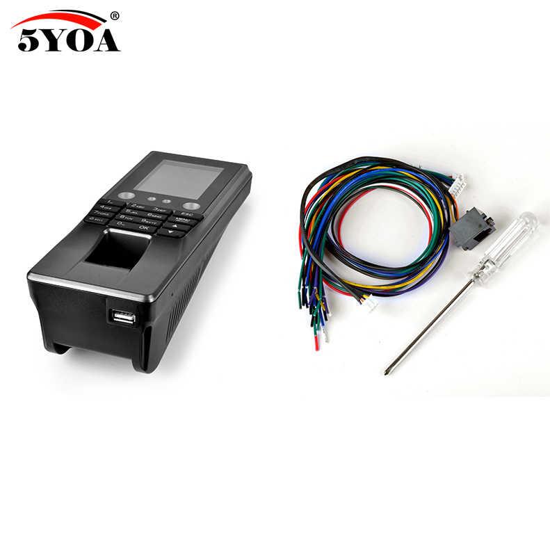 5YOA BM10 البيومترية الوجه الوجه بصمة الوصول التحكم WIFI آلة الحضور الوقت الكهربائية الاستشعار رمز نظام قفل الباب