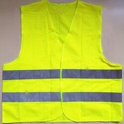 Жилет Мотоцикл высокая видимость безопасности светоотражающий жилет Hi Viz Предупреждение жилет светоотражающие полосы куртка