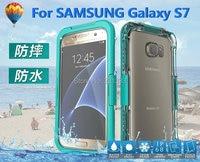 Zware Waterdichte Case Voor Samsung S7 Edge iphone 6 6 s 7 Plus Duiksport Slim TPU fullbody Beschermhoes Huid 1 stks