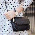 Famosa Marca de Design Pequeno Dobre Saco de Mini Mulheres Messenger bags Crossbody Sling bolsas de Ombro Bolsas Bolsas de Couro Com Zíper