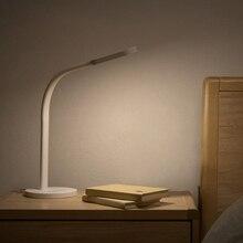 מקורי xiaomi Led Dimmable מנורת שולחן מתקפל אורות מגע להתאים גמיש מנורות חיסכון באנרגיה עבור xiaomi חכם בית ערכות
