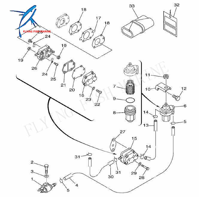 650-24431-A0-00 650-24431-A0-00 Fuel Pump Gasket Replacement for Yamaha Outboard 2 stroke