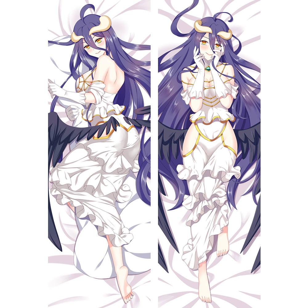 OVERLORD albedo Anime Decorative Hugging body pillow case
