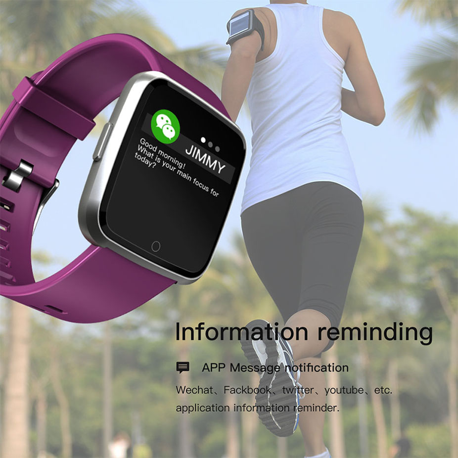 COLMI Smart watch Men IP67 Waterproof Activity Fitness Tracker Heart Rate Monitor Women Smartwatch For Android IOS 8