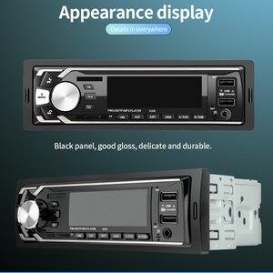Image 5 - 12 V double USB sans fil voiture Kit multifonction voiture FM/TF carte/AUX/MP3 Radio lecteur mains libres appelant rapide Charge voiture chargeur kit