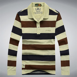 Men s brand clothing classic striped men s polo shirts casual long sleeve cotton male pullover.jpg 250x250