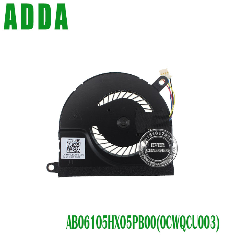 New For HP Spectre XT pro 13 13-2000 15 CPU Cooling Fan 692890-001