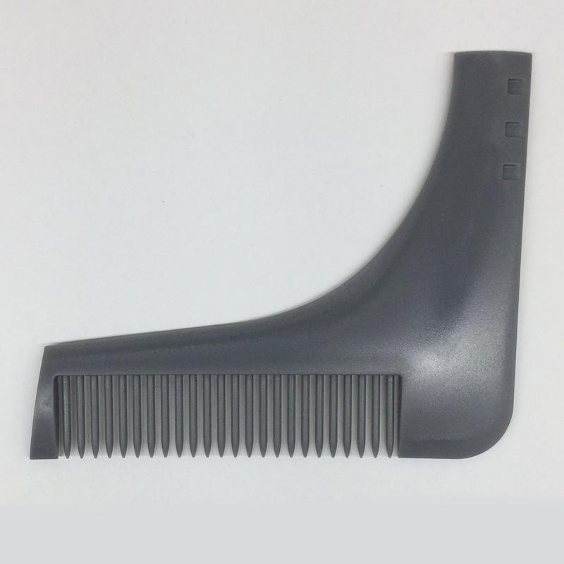 1PC Hair Trimmer Beard Bro Comb Beard Shaping Styling Template Carding Tools Sexy man Gentleman
