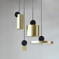 Современные круглый из нержавеющей стали Led подвесные светильники сочетание металла подвесной светильник для гостиной спальня кухня свети