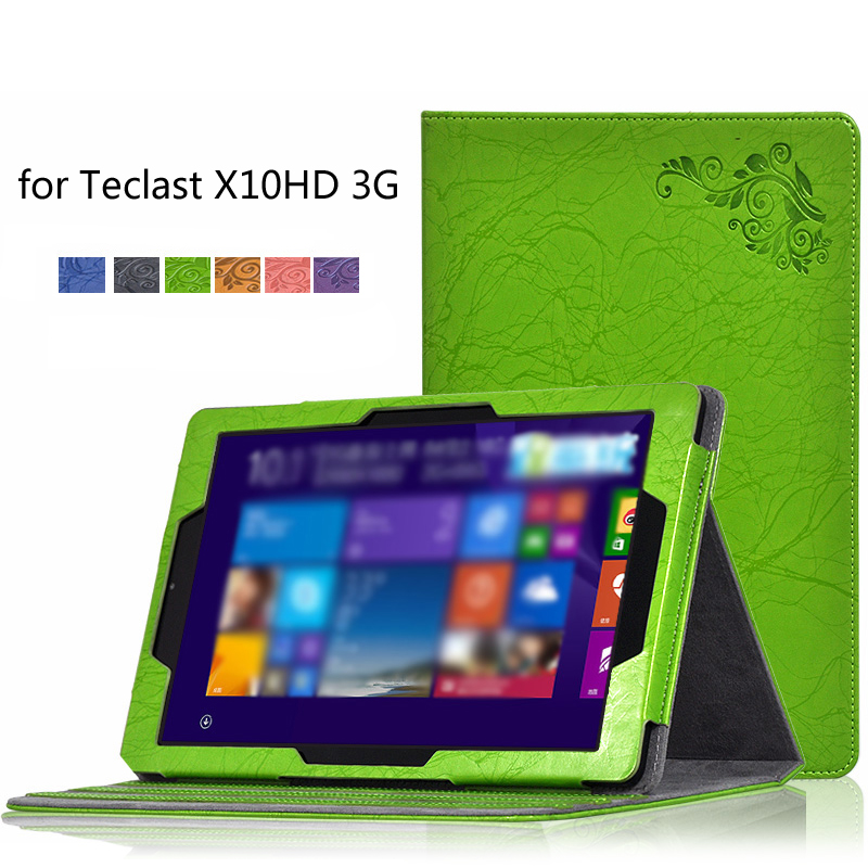 For Teclast X10HD 3G Case Protective Sleeve Stand PU Leather Case Cover for 10.1 inch Teclast X10 HD 3G Dual Boot Tablet PC+Pen портативная колонка ginzzu gm 871 черная