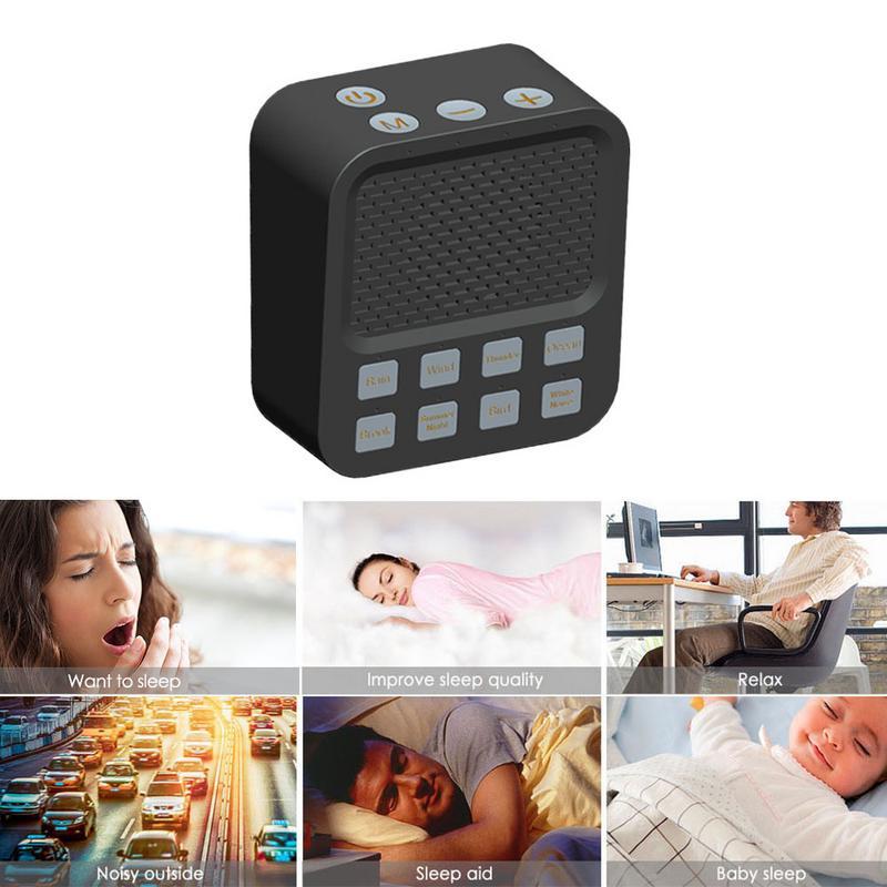 Portable Bluetooth haut-parleur sommeil Machine sommeil son bruit enfant adulte maison bureau voyage USB charge bébé soin