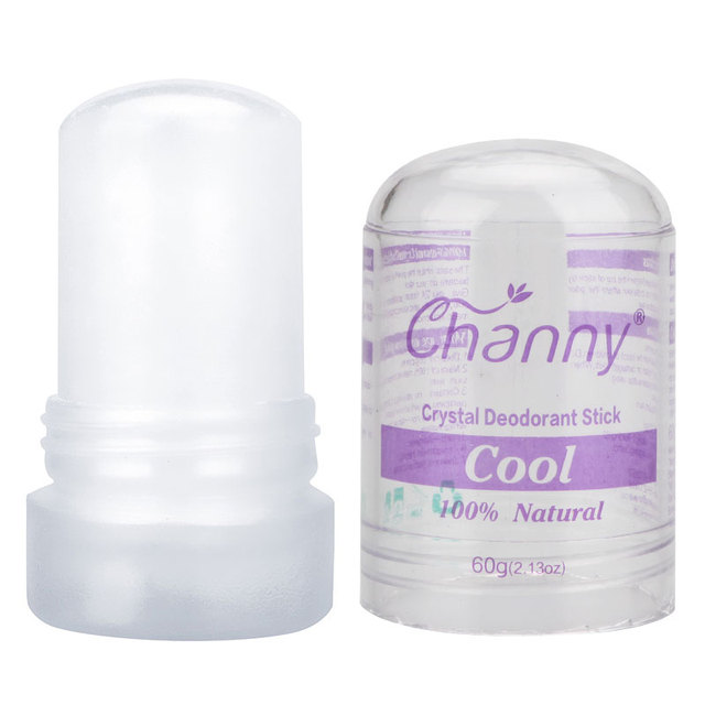Channy Alum Stick Deodorant Stick Antiperspirant Stick Alum Deodorant Natural Crystal Deodorant Underarm Removal For Women Man