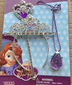 2016 NEW!! Sofia Princess MagicWand +Rhinestone Crown+necklace Set Baby Girl Princesa Sophia Halloween Party Crown Gift For Kids