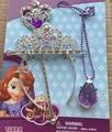 2016 nova! Sofia Princesa MagicWand + strass coroa + conjunto de colar bebê menina Princesa Sophia Halloween Party Crown presente para as crianças