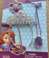 2016 nuevo! Sofia Princess MagicWand + Rhinestone Crown + necklace Set Baby Girl Princesa Sophia Halloween Party Crown regalos para niños