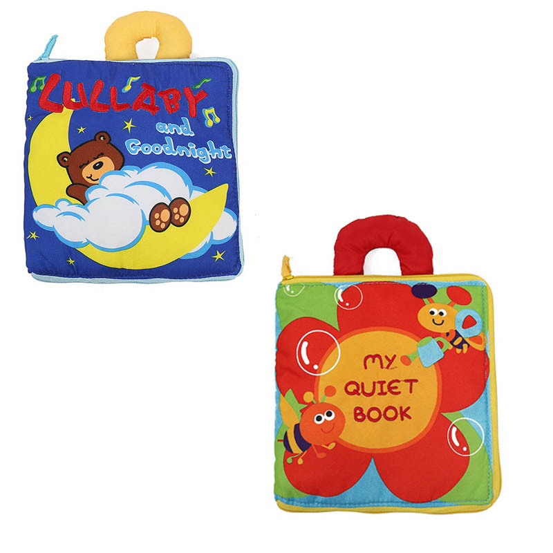 Baby Toys Early Education Soft Book Multi purpose Cloth ...