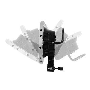 Image 5 - Godox Photo Studio TL 5 5in1 E27 gniazdo Tricolor światła żarówki głowica reflektora wielu uchwyt do kamery oświetlenie stock