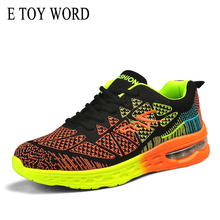 E TOY WORD Women Shoes 2019 Autumn Trend Ladies Sneakers Walking Breathable Mesh Woman Air Cushion zapatillas mujer