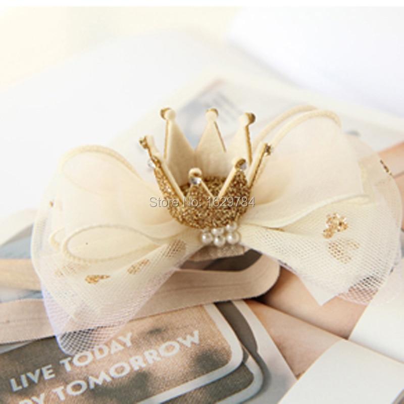 10stk Mode Glitter 3D Gemstone Tiaras Piger Hårbånd Solid Cute - Beklædningstilbehør - Foto 5