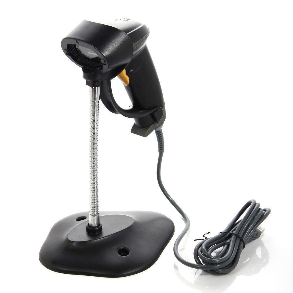 Автоматический Портативный USB Порты и разъёмы штрихкодов сканер штрих-кода считыватель pos + подставка