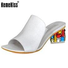 Женщины сандалии летние тапочки обувь женщины на высоких каблуках сандалии моды горный хрусталь обувь новый цвет прибытие обувь размер 35-41 WC0175