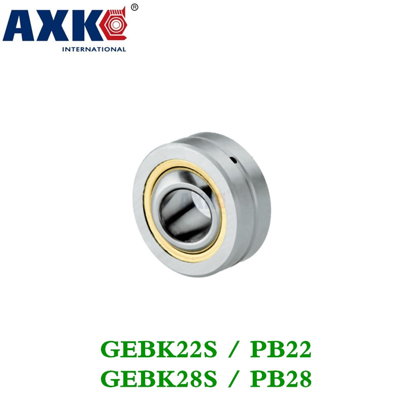 Axk Gebk22s/gebk28s Radial Spherical Plain Bearing With Self-lubrication Free Shipping zokol bearing ge40es radial spherical plain bearing 35 55 25 20 mm