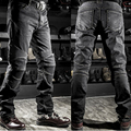 NEW R2 Locomotive jeans With knee protector Rider pants CE Gear Motorcycle Shorts Leisure Cultivate Jeans