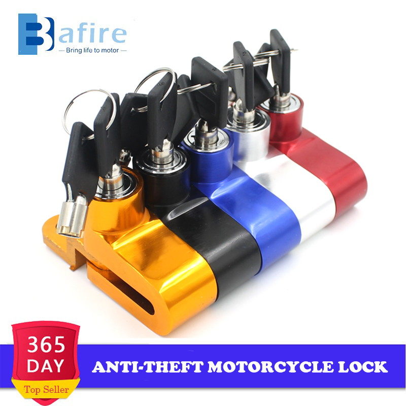 Motorcycle Lock Security Anti-theft Bike Bicycle Motorbike Motorcycle Disc Brake Lock Theft Protection For Scooter Motorbike