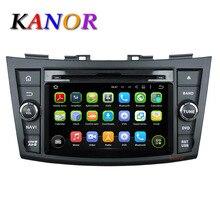 For Suzuki Swift 2011 2012 Android 5.1.1 Quad-core Autoradio GPS Navigator 1024*600 Car Radio with DVD Cassette Player