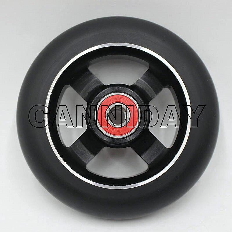 Prix pour 2 PCS Livraison gratuite! Produits chauds! nouveau style professionnel stunt scooter roues 100X24 MM 88A
