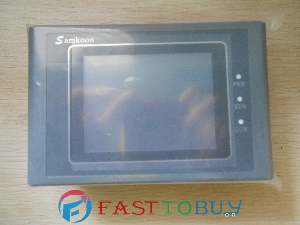 цены на SK-035AE New Original 3.5'' inch Samkoon HMI Touch screen With Software + Cable 1 Year Warranty