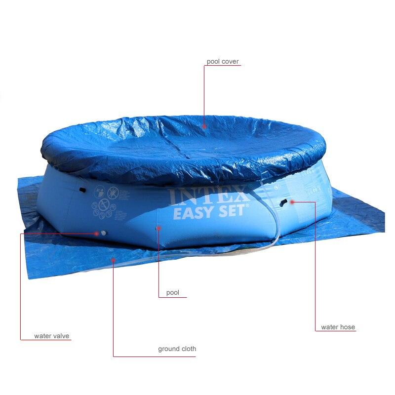 duży odkryty dziecko lato nauka pływanie dorosłych nadmuchiwany - Sporty wodne - Zdjęcie 4