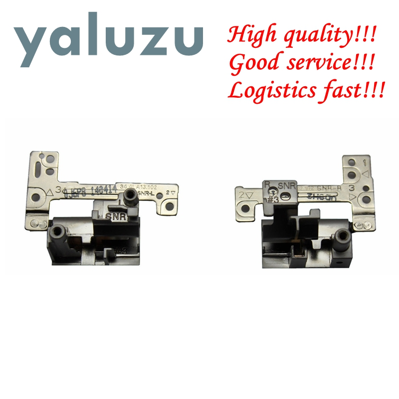 YALUZU New FOR DELL Vostro 131 V131 E3330 3330 Series Laptop Screen LCD Hinges Pair Left Right 34.4LA13.102 34.4LA12.102