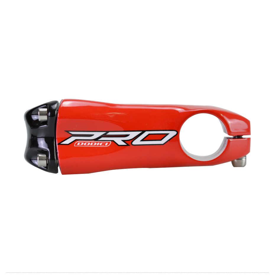DODICI Pro углеродного волокна MTB велосипедный вынос руля зажим для руля 31,8 мм карбоновый Дорожный велосипед Велоспорт 10 градусов 80/90/100/110/120 мм