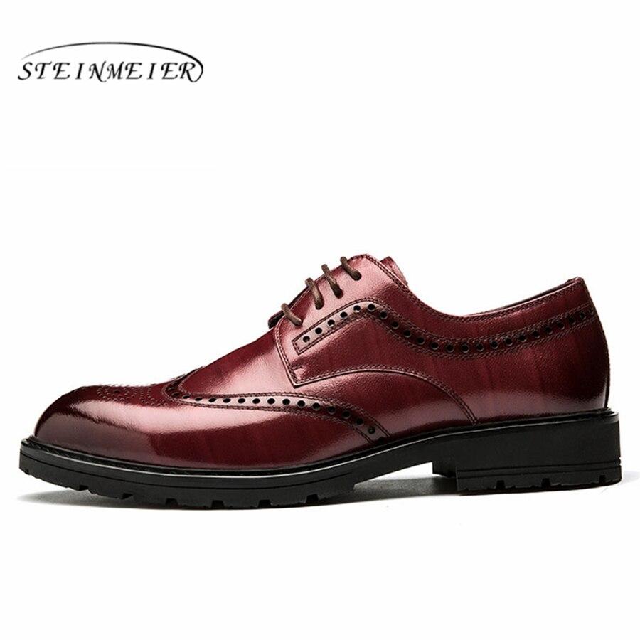 Formelle Lace Bureau Dressing Hommes Robe Black Zapatos Cuir red Up Homme De En Hombre D'affaires Chaussures Mariage Oxford Pour BFdwFg7q
