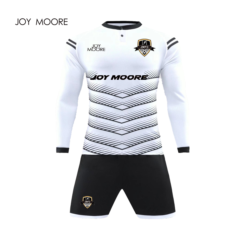 2017 2018 New Quick Dry Boys Kids Youth Soccer Training Tracksuits Suits Goalkeeper Jerseys Sets Survetement Football Uniforms