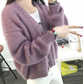 New Autumn&Winter cardigan Women 2016 Casual Long Sleeve Knitted Cardigans Crochet Ladies Sweaters Fashion vestidos