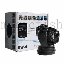 Jebao RW-4 RW-8 RW-15 RW-20 Wave Maker Pump Marine Aquarium Wave Making Wireless Master Slave Pump Control bosch tes 60729 rw