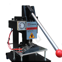 150*100mm Hot Stamping Machine 220V Manual Leather Embossing Machine Hot LOGO Marking Machine Bronzing Machine ZY 160B